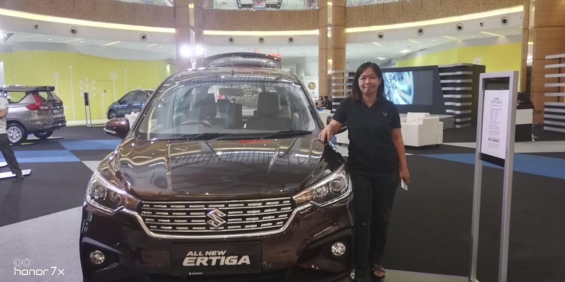 Tampilan Elegan Suzuki All New ERTIGA 2018 Mobil Keluarga Indonesia