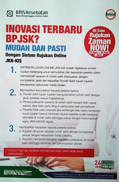 Sistem Rujukan Online BPJS Kesehatan