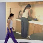 Fotografía impresa a inyección de tinta sobre 448 módulos de papel de acuarela de 15 x 7,5 cm. c/u.