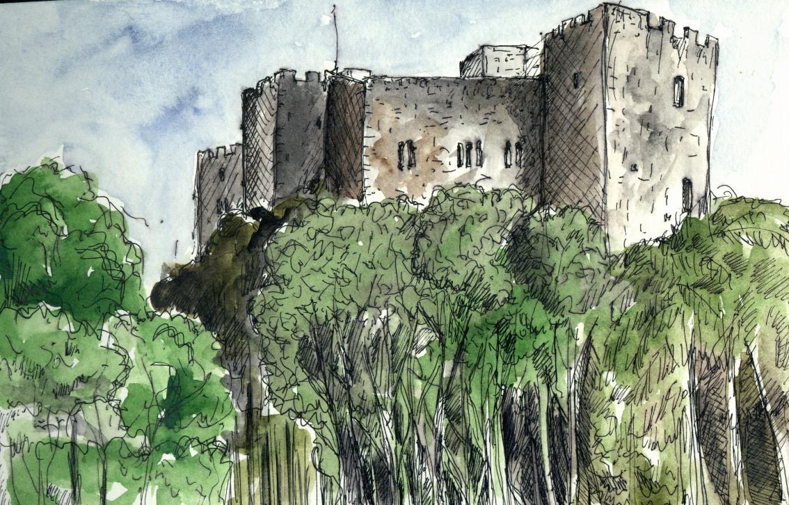 Camino a girona el castillo de la roca del vall s las - Piscina la roca del valles ...