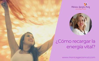 ¿Como recargar tu energía vital?