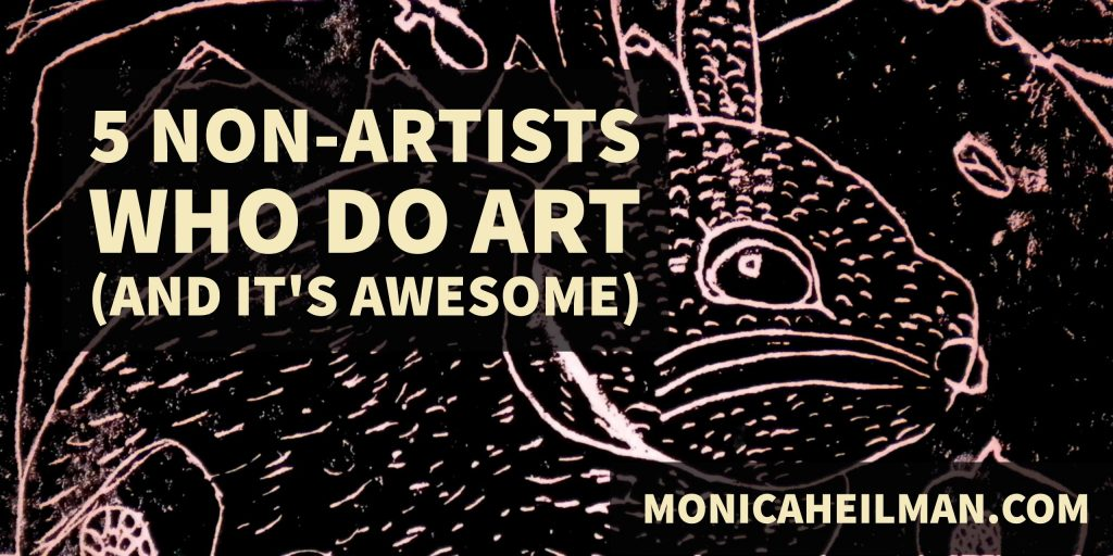 non-artists who do art