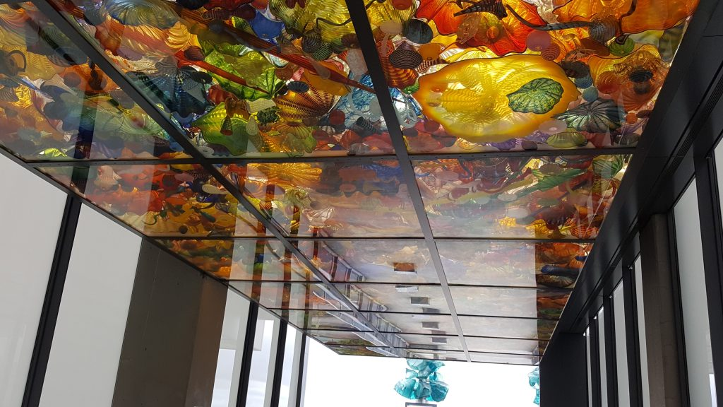 art of seattle Chihuly bridge of glass