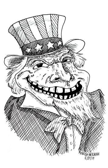 4th of July Ferguson_Uncle_Sam