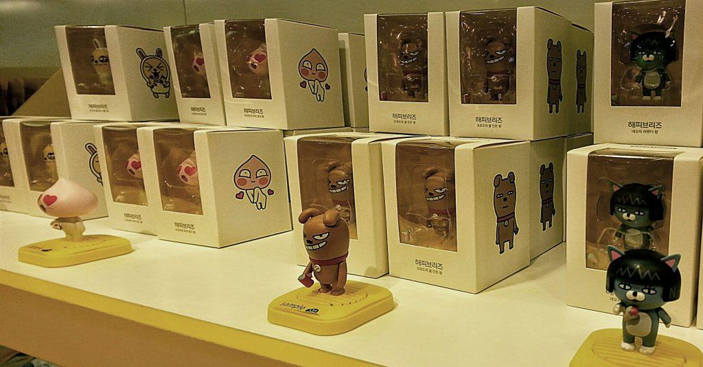 Kakao Friends emoji pop store air freshener
