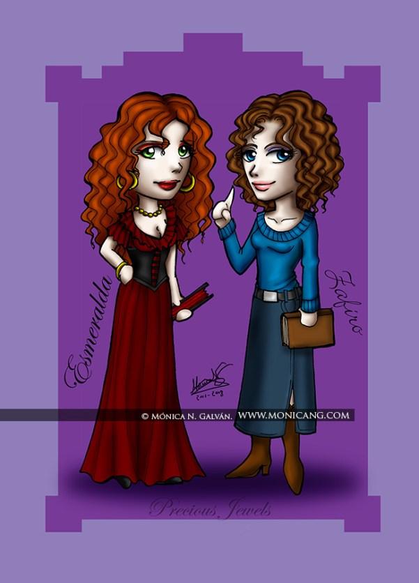 Eyes of Jewels - Esmeralda y Zafiro