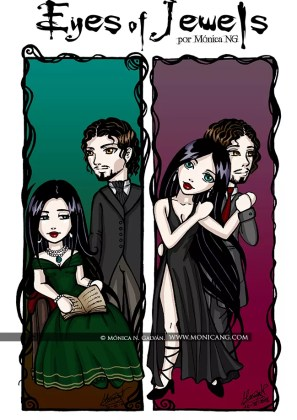 Eyes of Jewels - Jade y Alejadro (Bookmarks)