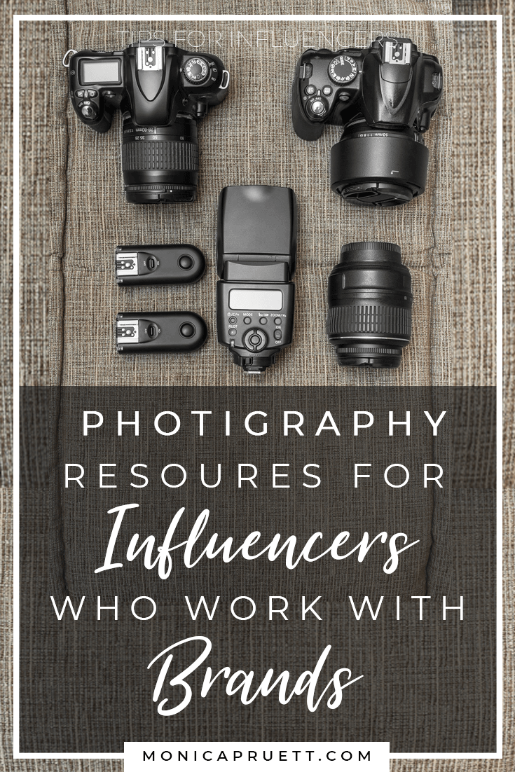 Photography Resources for Influencers Who Work with Brands