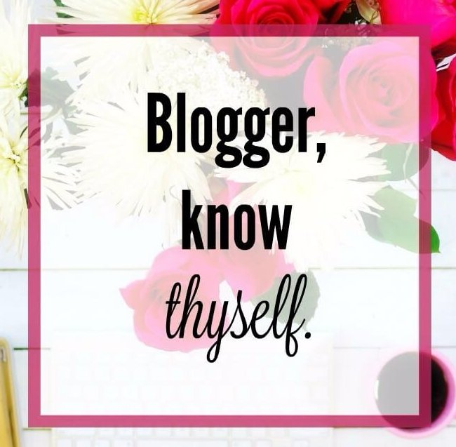 As an Online Influencer it's so Important to Know Thyself - it sets the tone and who you attract and who you are eligible to partner with