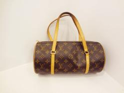 Louis Vuitton Brown/Tan Monogrammed - $499