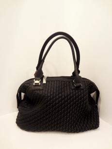 Black Vegan Leather Handbag - $49.00