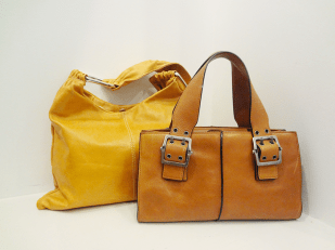 Hype Leather Bag - $39, Pulicati Orange Bag - 459