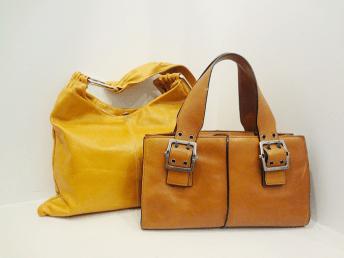 Hype Leather Bag - $39, Pulicati Orange Bag - 459