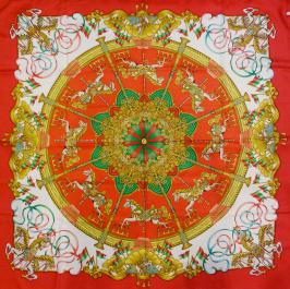 Hermès silk scarf -$280