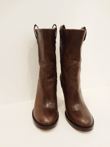 Haider Ackerman heeled leather boots - $279 (Size 10)