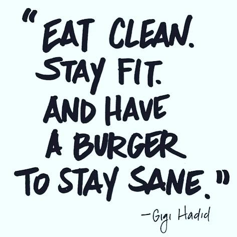 eat a burger :)
