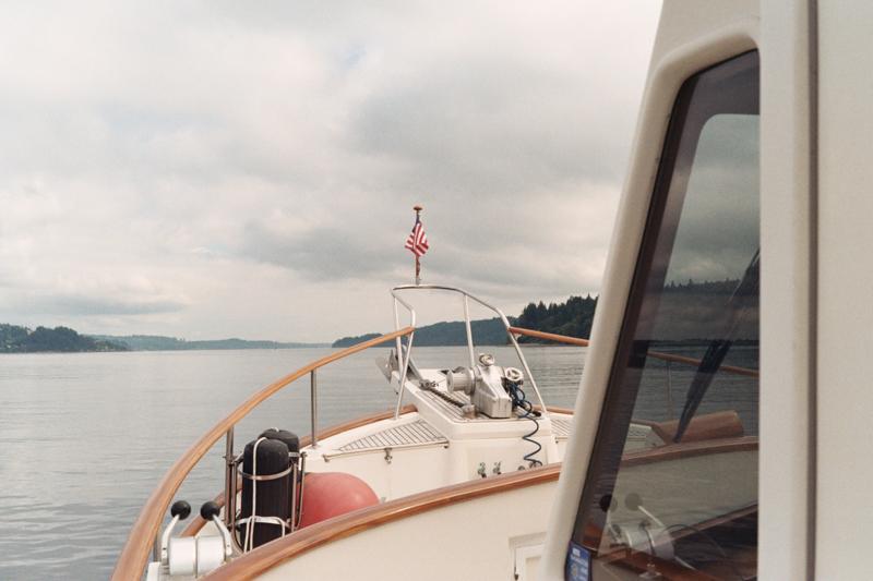 Testers boat, Puget sound
