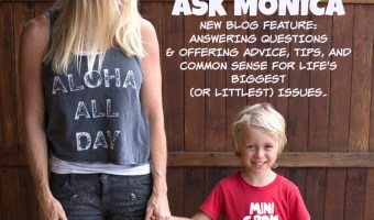 Introducing New Monthly Feature:  Ask Monica