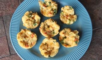 Baked Quinoa Veggie Bites