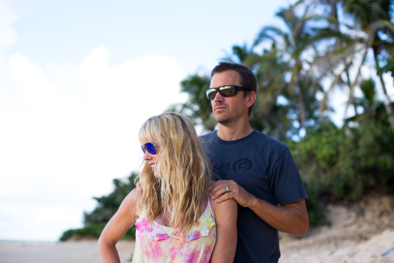 Dave and Monica in Maui JIms