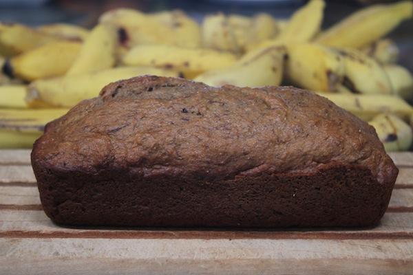 whole wheat, no sugar added Banana bread at thegrommom.com
