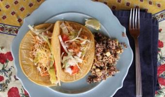Family Favorite Fish Tacos