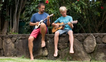 Dads and Kids: Connecting through Music. With a (Beautiful!) Kala Ukulele Giveaway!