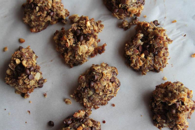 quinoa oat cookies