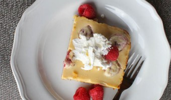 Simple Lemon Raspberry Bars