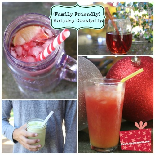 Five Festive Holiday Drinks (Family-Friendly)