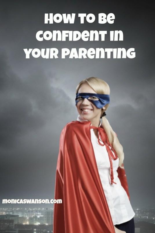 confidence in Parenting P