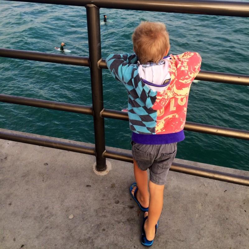 Huntington Beach Pier Levi/Luke surf