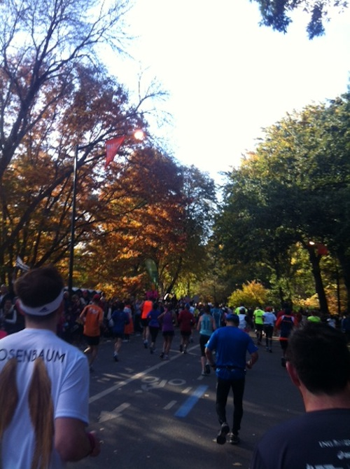 Central Park Running NYC Marathon