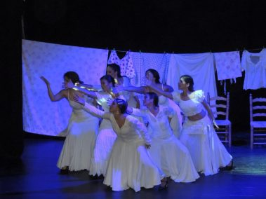 Mujeres en patio Andaluz. Andaluza Soul