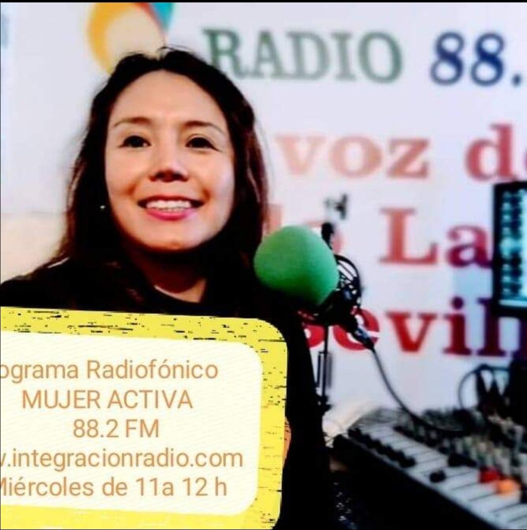 Programa radiofónico mujer activa