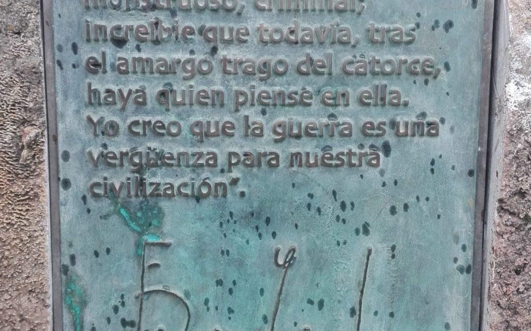 Dime que lees y te diré quien eres. Biblioteca de Fuente Vaqueros. Federico García Lorca