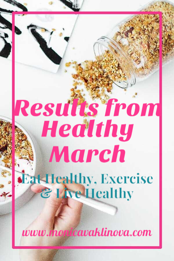 Results from Healthy March - Eat Healthy, Exercise and Live Healthy