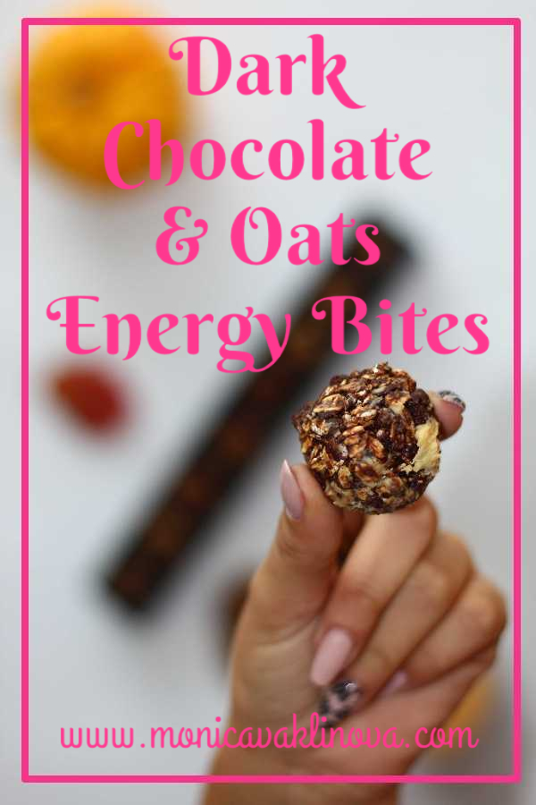 Dark Chocolate and Oat Energy Bites