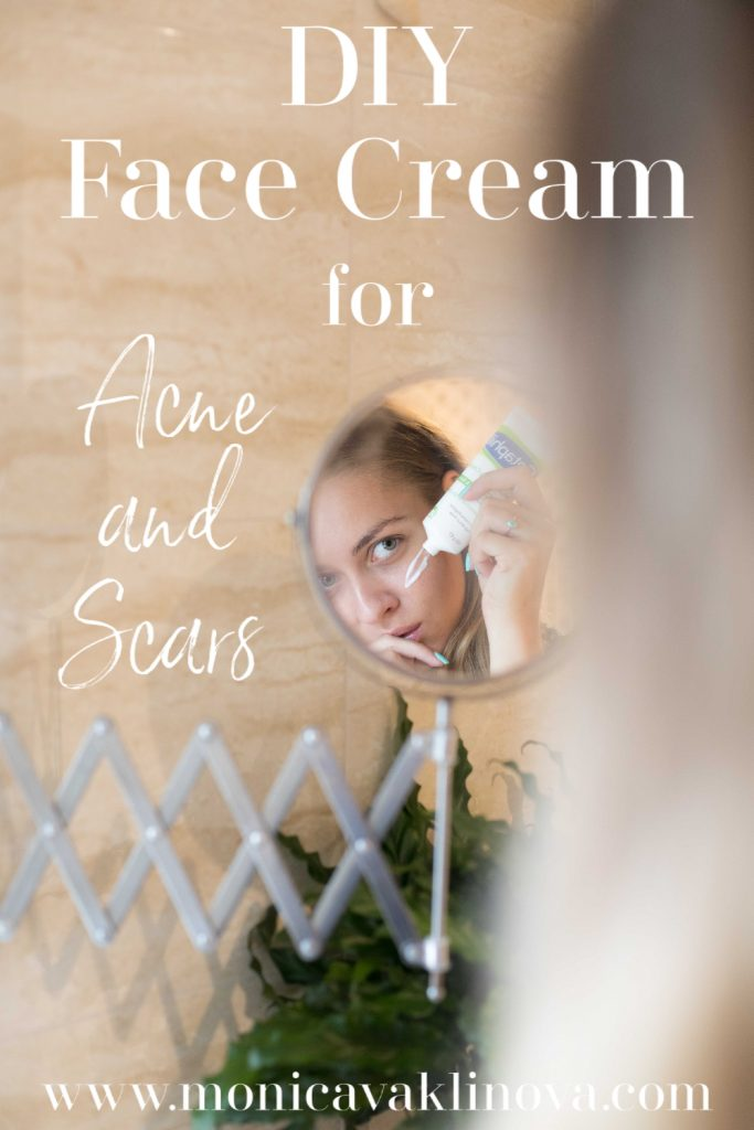 diy face cream for acne and scars