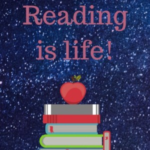 Reading is life bookmark