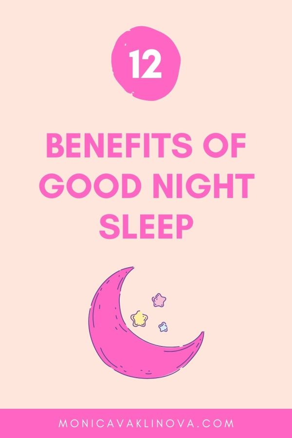 12 Benefits of Good Night Sleep