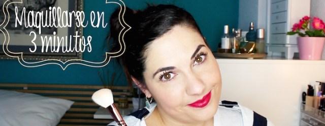 maquillaje en 3 minutos