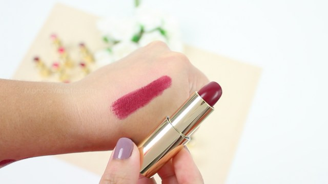 Monica-Vizuete-Swatches-Pierre-Rene-Royal-Mate-lipstick-19-full-of-cherry