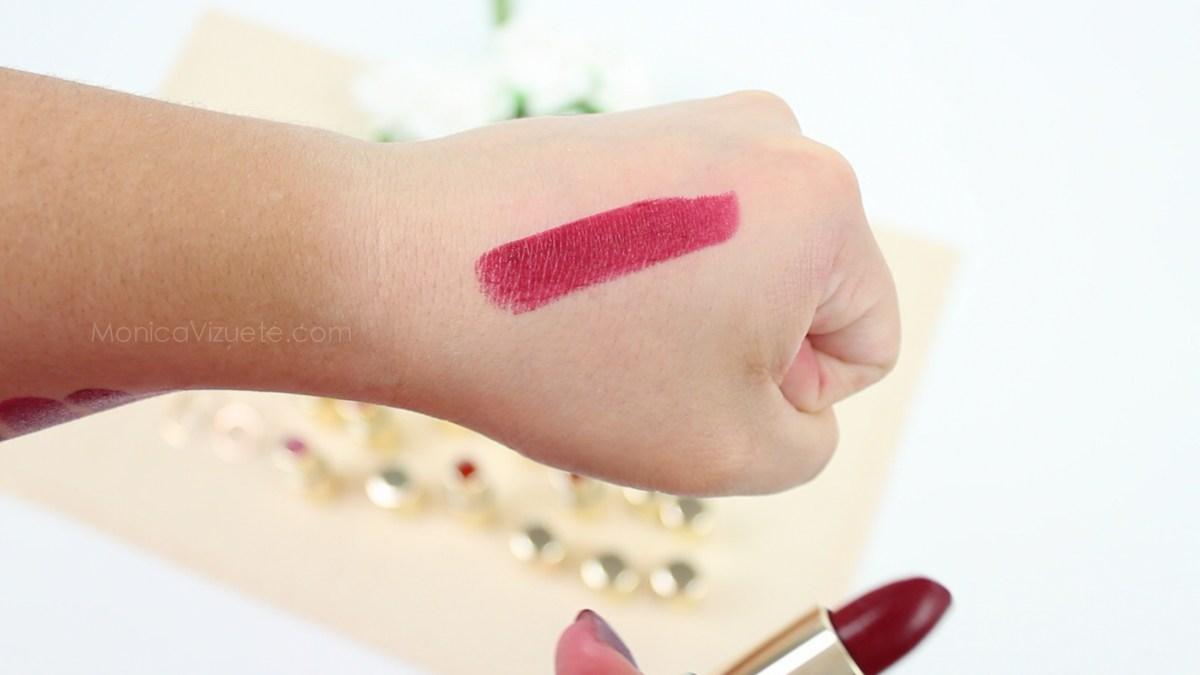 Monica-Vizuete-Swatches-Pierre-Rene-Royal-Mate-lipstick-23-Dry-wine