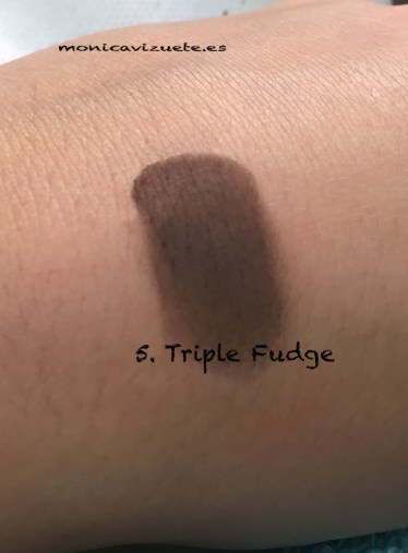 5. Triple fudge