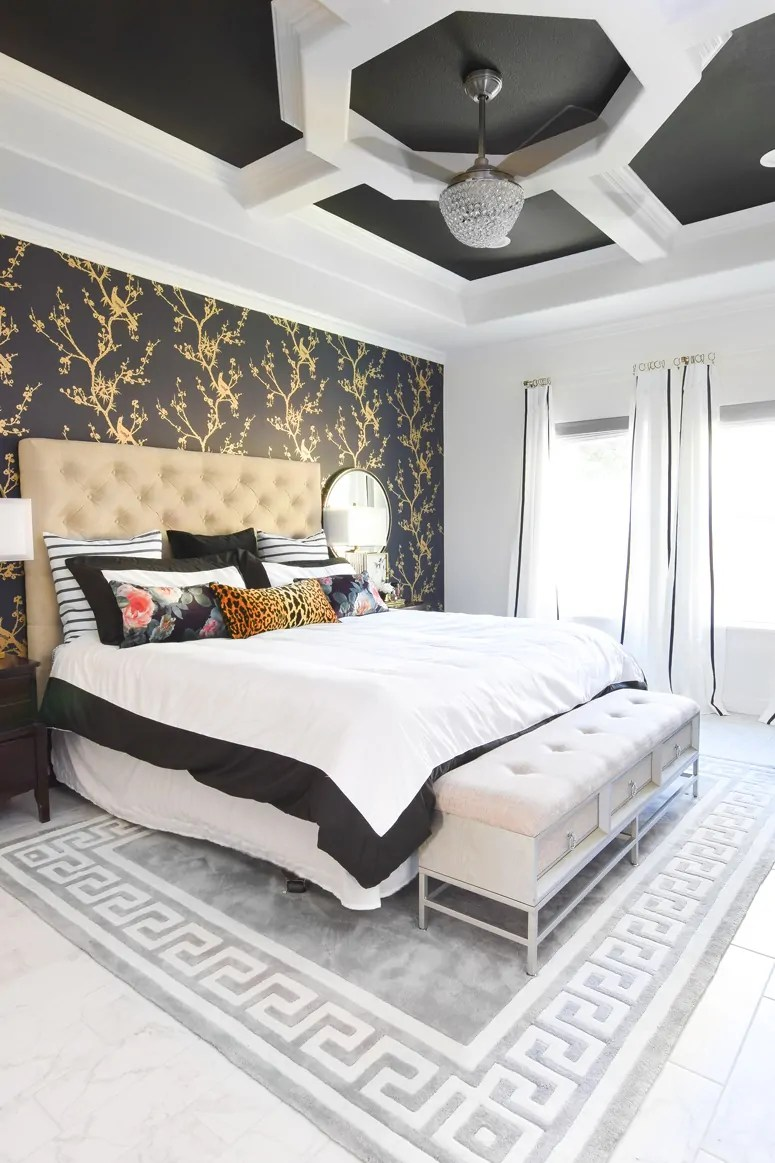 Master Bedroom Accent Wall Ideas Monica Wants It