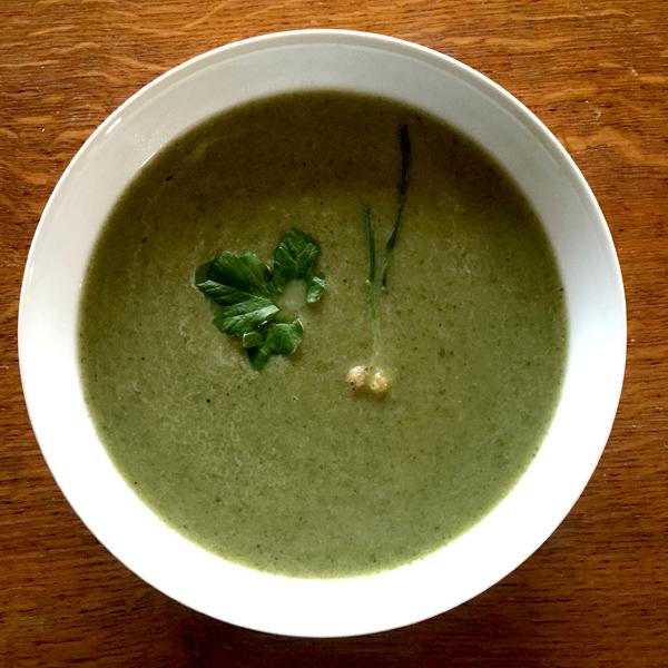 Alexanders 'Smyrnium' Soup
