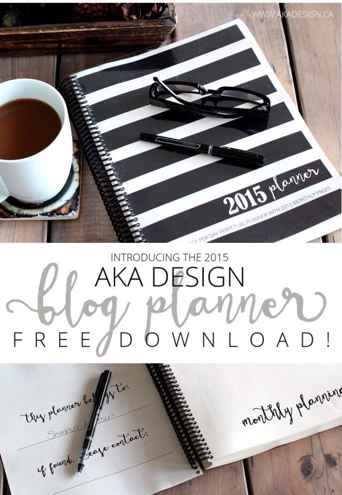 Blog Planner 2015 (2/5)