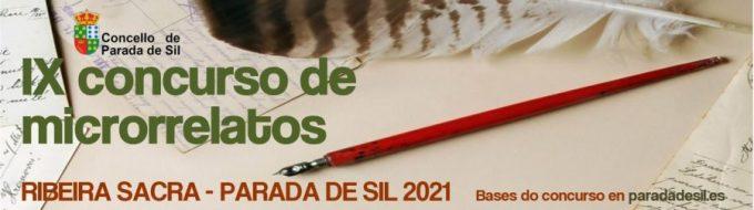 IX Concurso de microrrelatos Ribeira Sacra -Parada de Sil