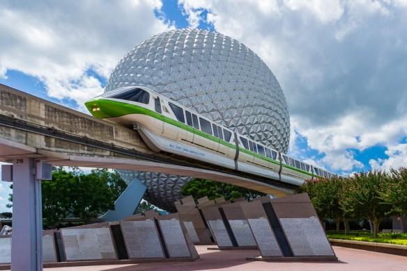 Epcot monorail